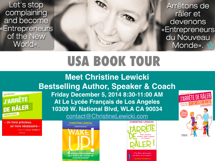 US BOOK TOUR LYCEE