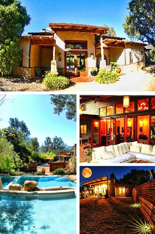 Villa Ojai photo montage