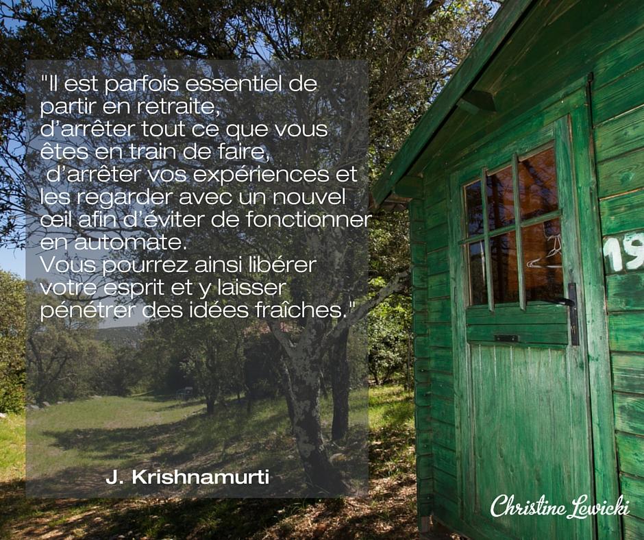Quote - Krishnamurti