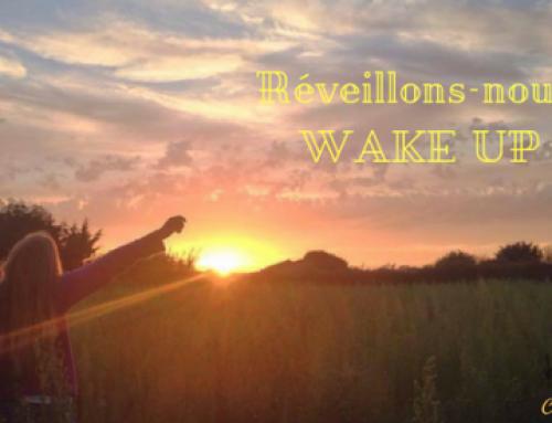 Réveillons-nous… Wake up !