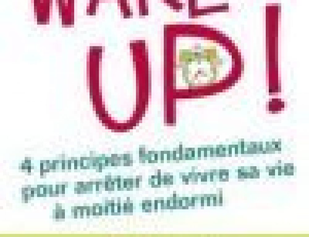 "Le livre ""WAKE UP"" est disponible en version pocket !"