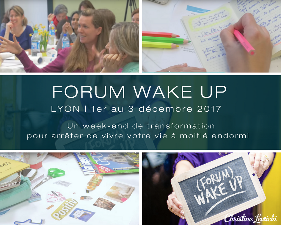 Christine Lewicki | Développement personnel | Coaching | WAKE UP | Séminaire