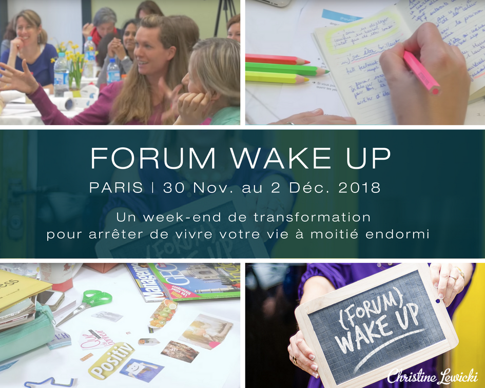 Christine Lewicki | Forum WAKE UP | Développement personnel | Coaching