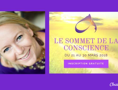 Ouverture des inscriptions pour le Sommet de la Conscience 2018 !