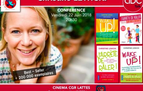 J'arrete de Raler, Christine Lewicki, 2018, Lattes, Montpellier
