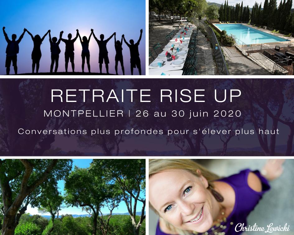 Rise Up, Developpement personnel, Relation à l'argent