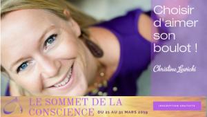 Sommet de la Conscience, Epanouissement, Travail, Boulot, Business Coaching, Carriere, Christine Lewicki