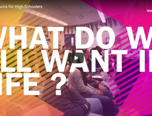 Life Lessons for High-Schoolers 1/2 : What do we all want in life ?
