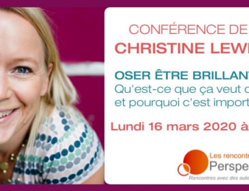 Conférence Oser être brillant.e – 16 mars 2020 à Paris