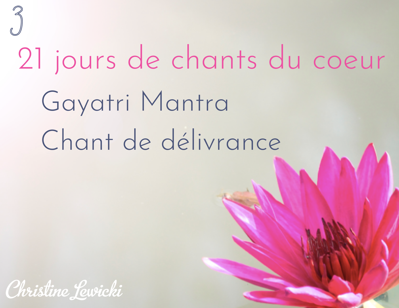 Gayatri mantra - chant de délivrance