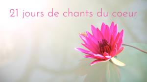 Challenge, Chant, Mantra