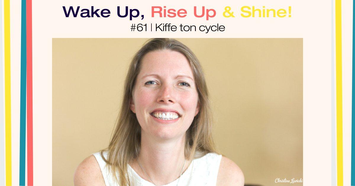 Gaelle Baldassari, Kiffe ton cycle, cycle menstruel